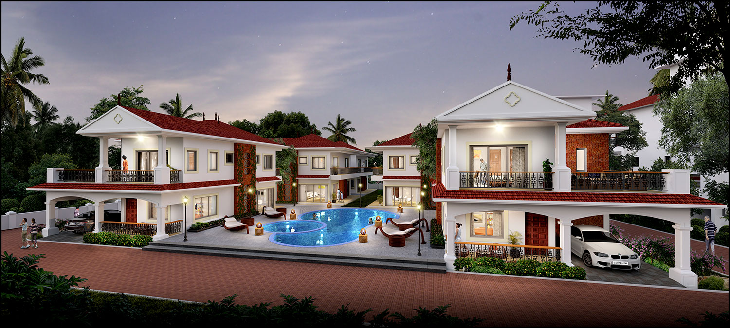 Luxurious villas for sale in Assagao Goa
